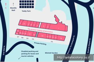 Carte du coin des artistes