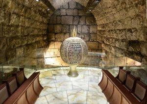 synagogue kotel jerusalem tunnel