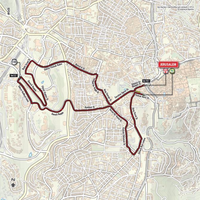 velo cycliste jerusalem israel