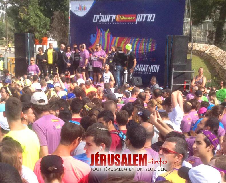 Marahton 2018 - Départ des 10 km en présence du maire