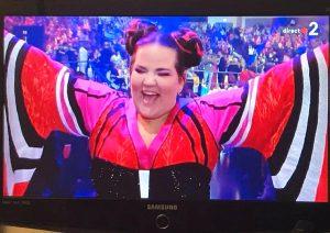 victoire netta eurovision jerusalem