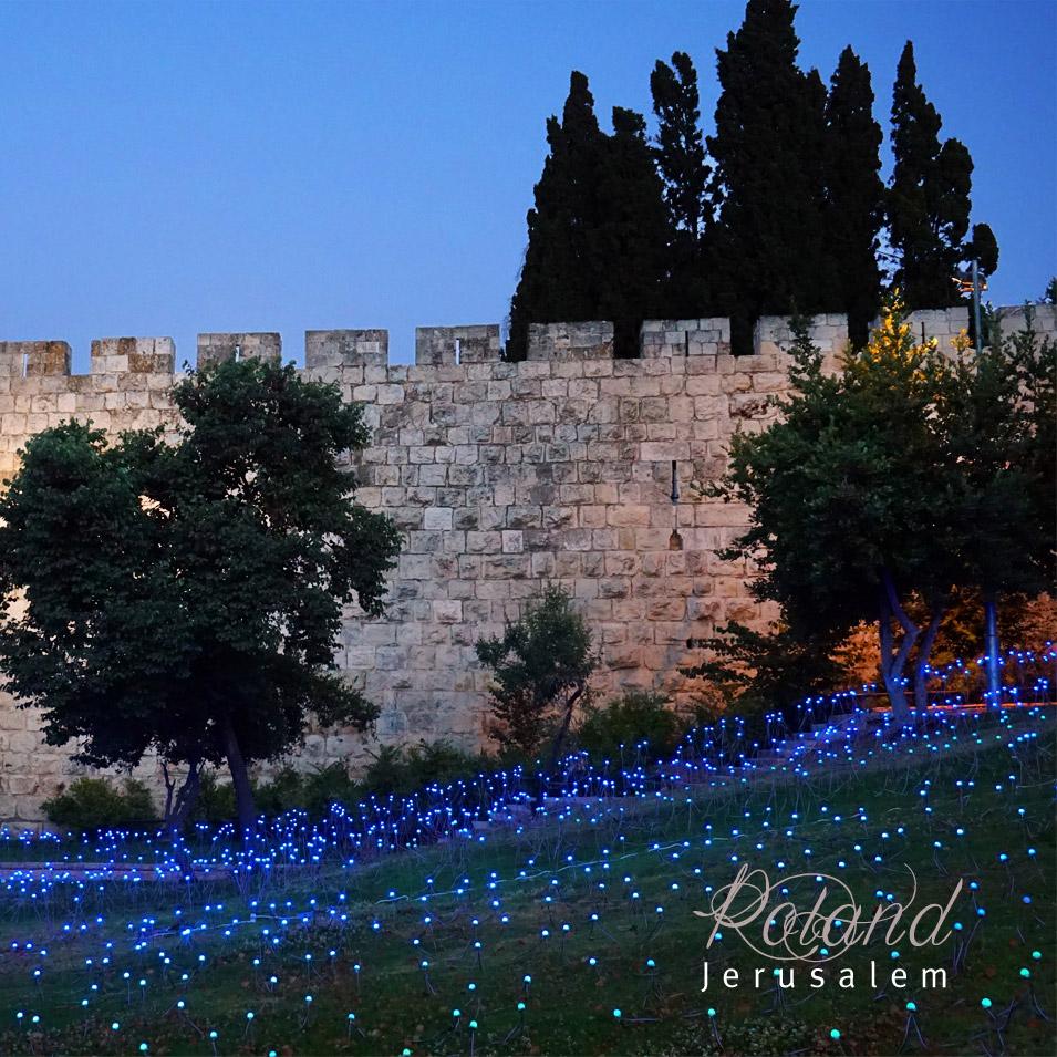 nuit muraille jerusalem promenade sortie