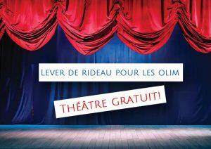 theatre gratuit olim immigrant jerusalem