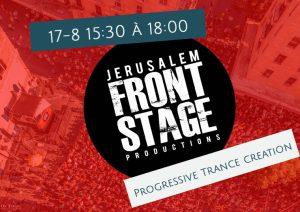 trance front stage jerusalem