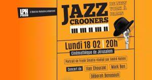 crooners jazz jerusalem