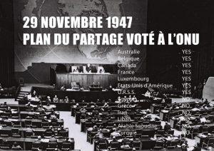 date historique plan partage